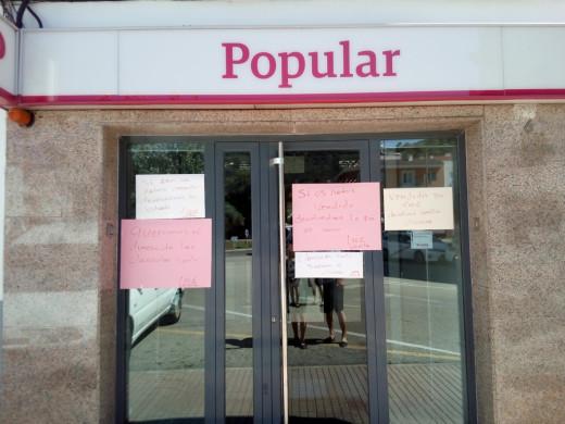 La crisis del Banco Popular se hace sentir en Menorca