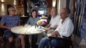 Los portavoces de la asociación explicaron sus reivindicaciones ante la nueva gestión del varadero de Maó.