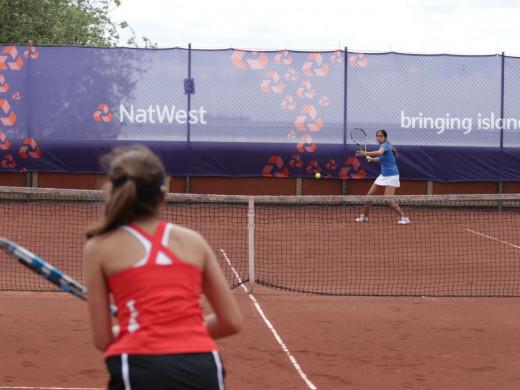 El tenis femenino nos trae la tercera plata desde Gotland
