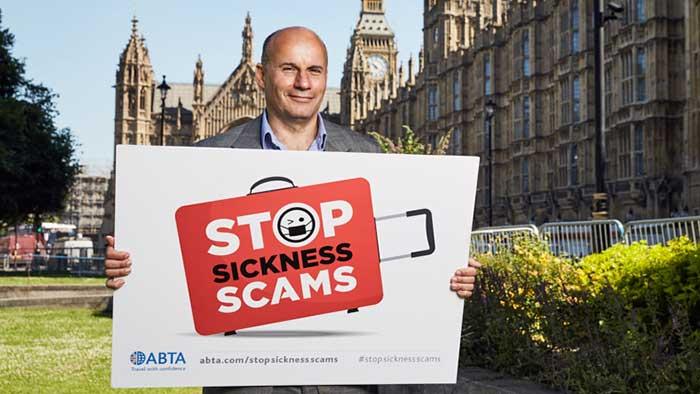 Imagen de la presentación de la campaña en Gran Bretaña