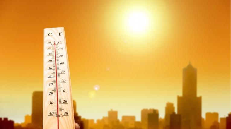 Las temperaturas serán muy altas desde el martes.
