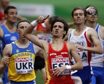 Miguel Quesada, en una competición.