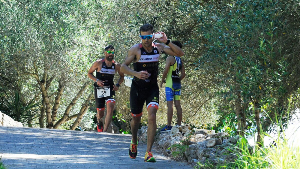Momento de la carrera a pie (Fotos: Tolo Mercadal)