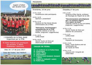 Programa del evento.