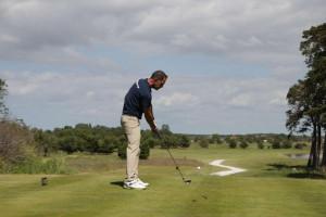 Prueba de golf.