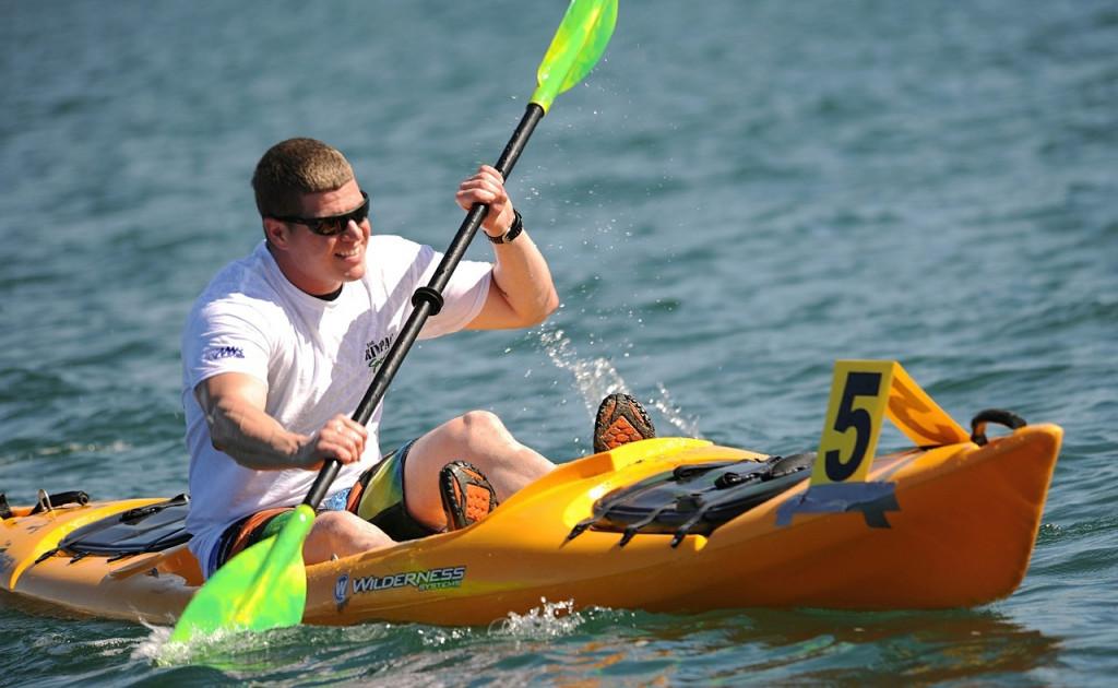 No hace falta experiencia para navegar en un kayak