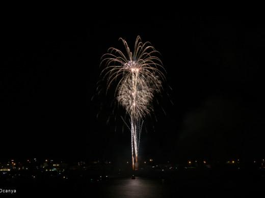 (Fotos) Fin de fiesta espectacular