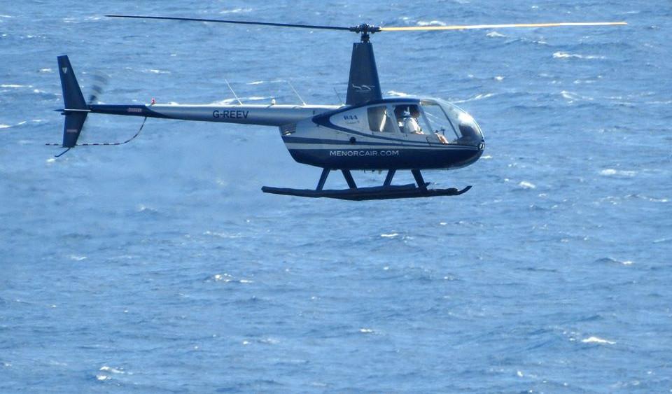 Imagen del helicóptero