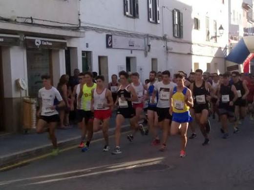 (Galería de fotos) Gran fiesta del atletismo en Es Mercadal