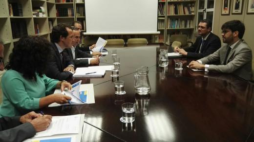 Reunión en Madrid.