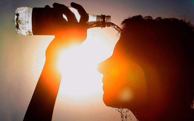Se prevé que la sensación térmica llegue a los 38 grados debido a la alta humedad ambiental