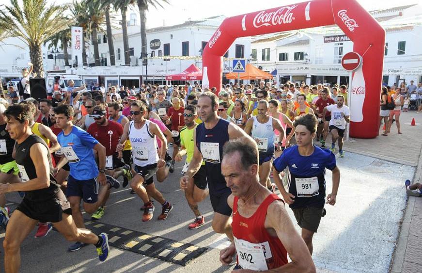 Momento de la salida de la carrera (Foto: T. Mercadal)