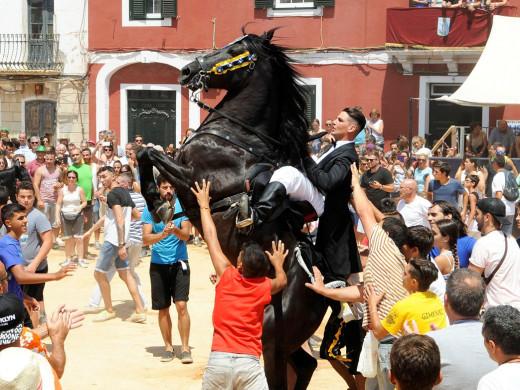 (Fotos) La diversión se apodera de Es Castell