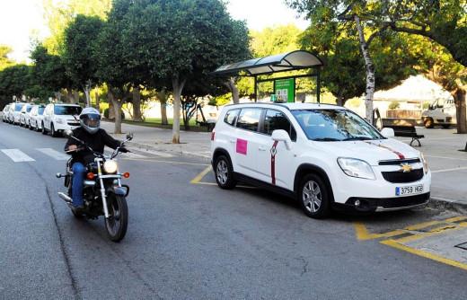 Faltan taxis.