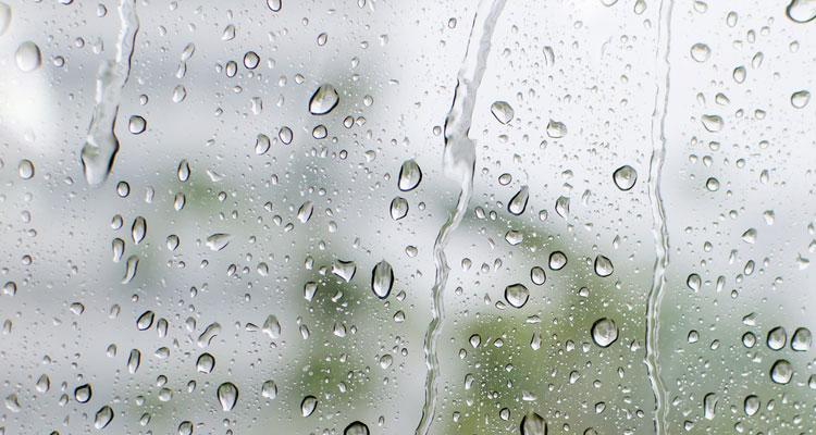 Ha llovido a primera hora de la mañana en la Isla.