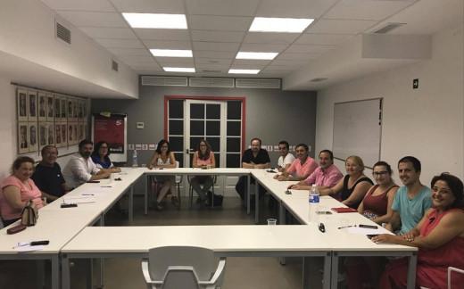 La nueva ejecutiva del PSOE