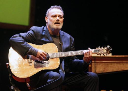 Pablo Carbonell, durante una representación.