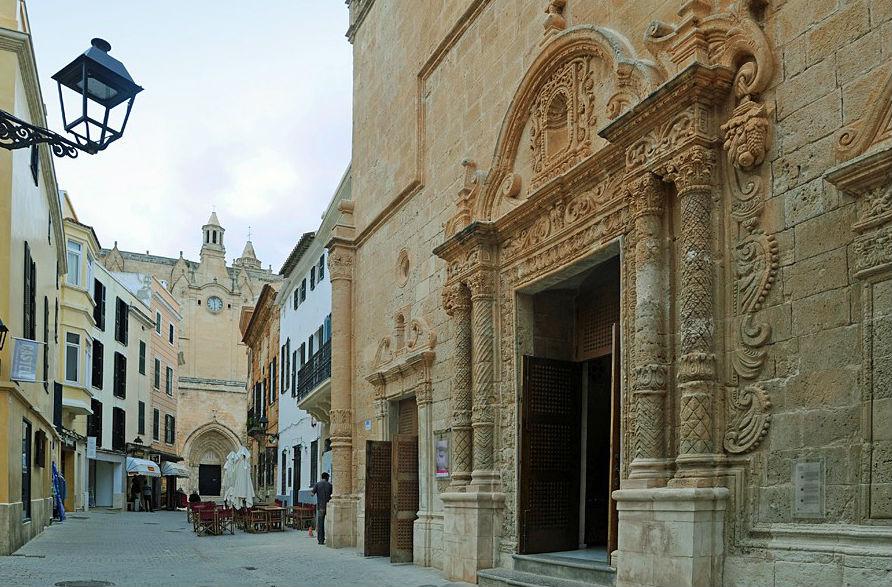 Calles del centro histórico de Ciutadella