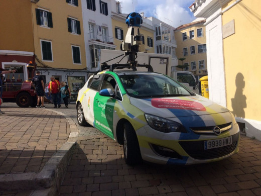 (Fotos) Google vuelve a Menorca para actualizar su Street View