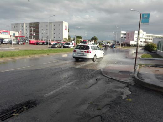(Galería de fotos) Las últimas lluvias vuelven a inundar el polígono de Maó