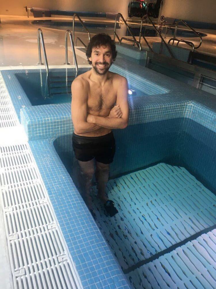 Llull, en una piscina de contrastes de temperatura.