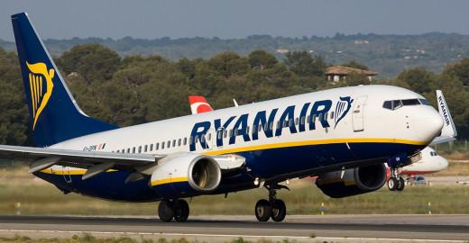 Ryanair opera en Menorca durante la temporada alta