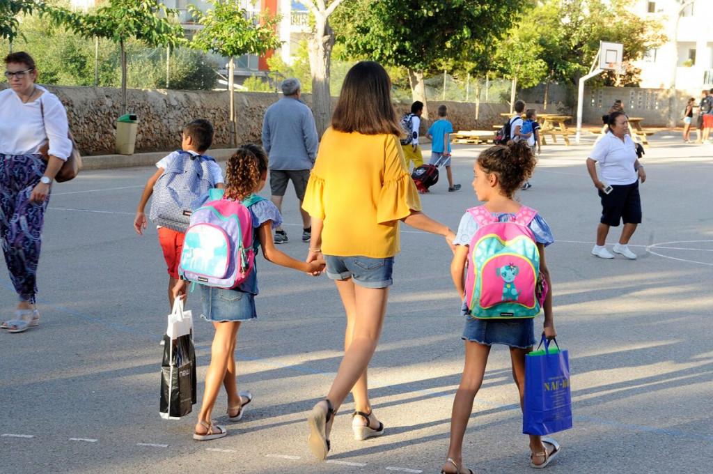 Mañana los niños y  niñas de Menorca volverán a la escuela