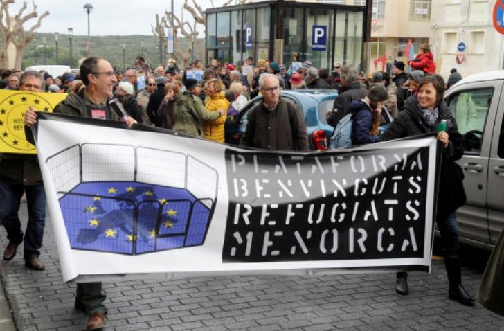 Sin refugiados.