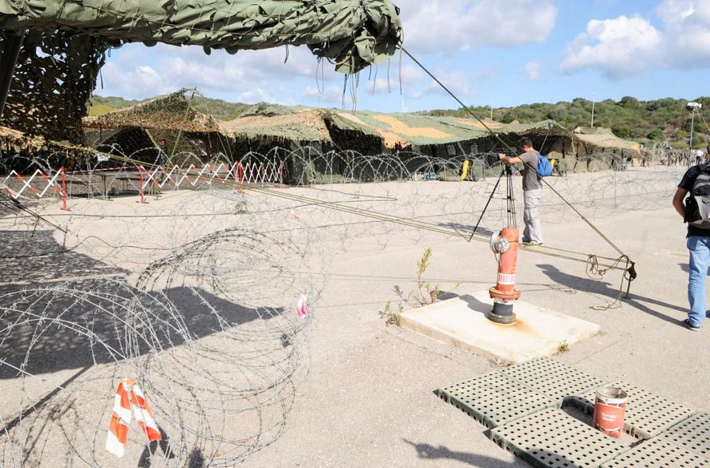 Imagen de maniobras militares de la OTAN en Menorca en 2017