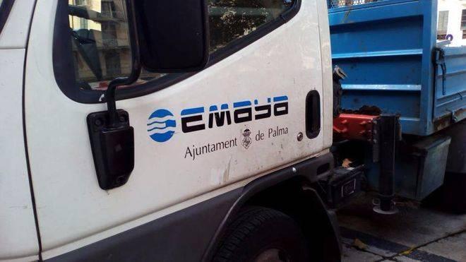 Camión de Emaya.