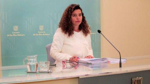 Pilar Costa, portavoz del Govern balear.