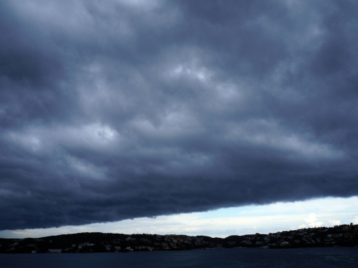 (Vídeo y fotos) Llovió