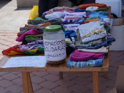 Paella solidaria en Es Castell