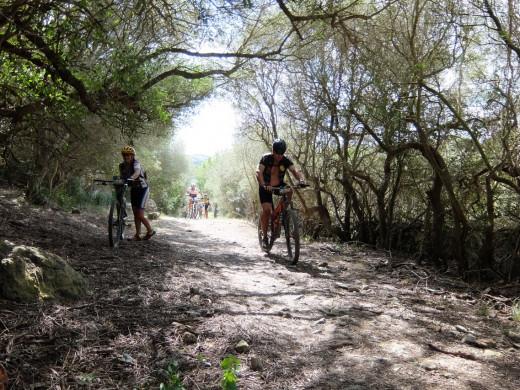 Segunda etapa de la Vuelta en BTT a Menorca