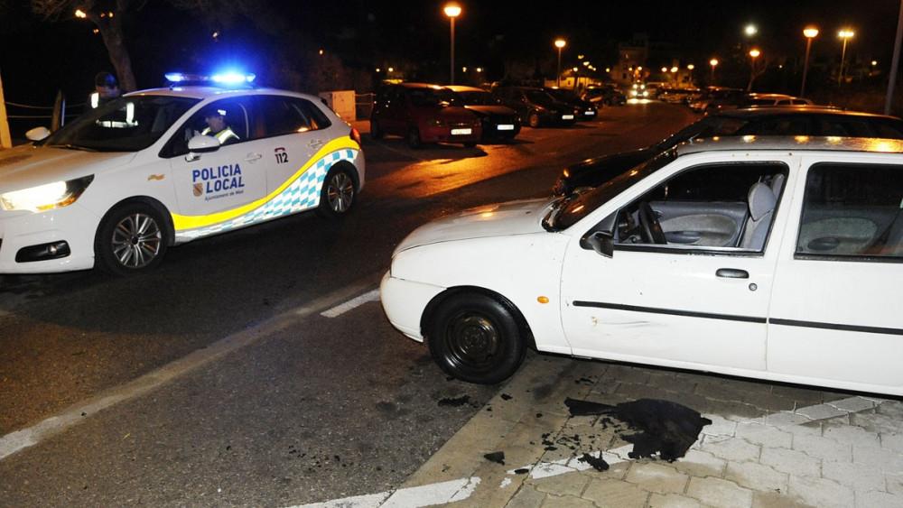 La Policía Local también ha intervenido.