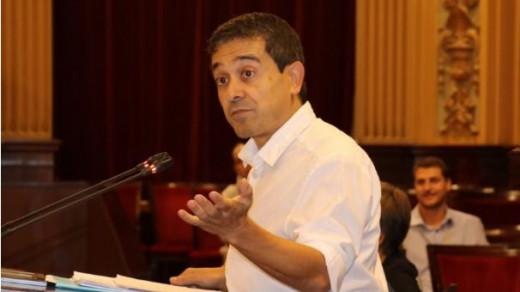 Nel Martí, en el Parlament.