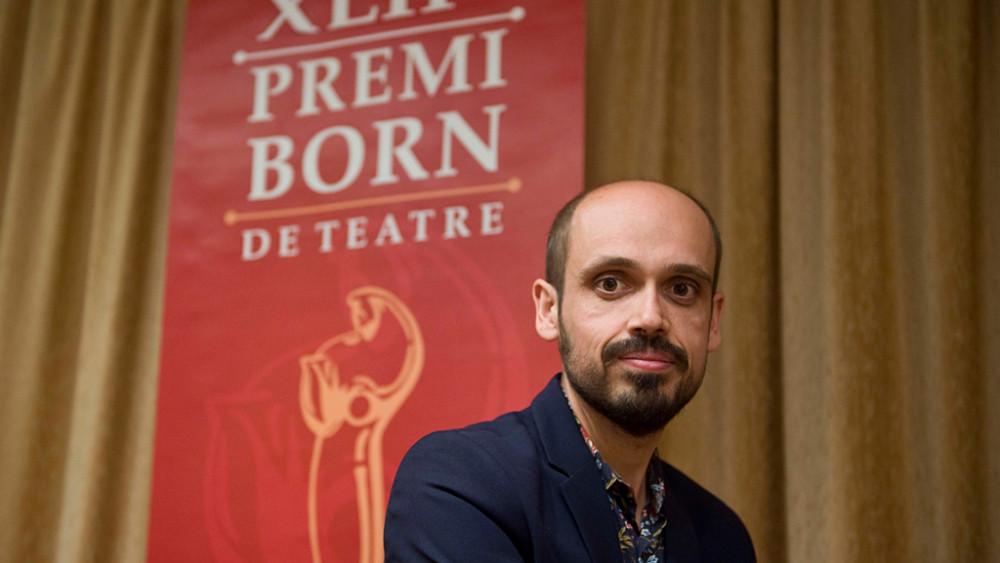 Francisco Javier Suárez, ganador del Premi Born 2017 (Foto: David Arquimbau)