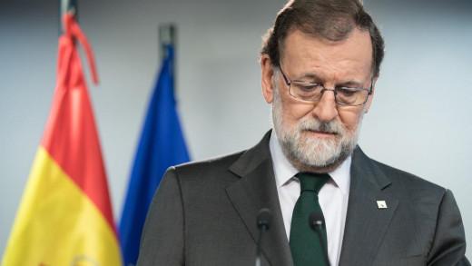 Rajoy, en rueda de prensa.