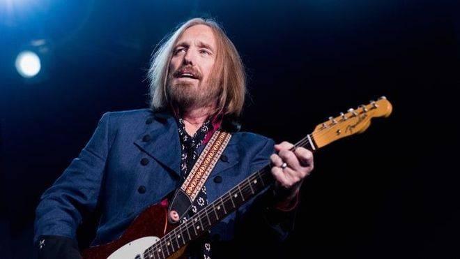 Tom Petty, durante un concierto.