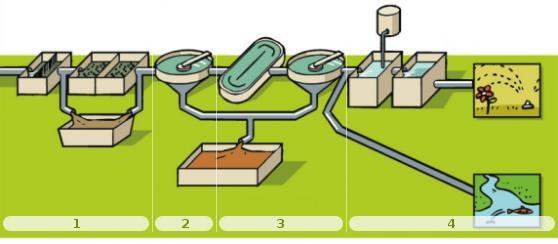 Ciclo de depuración del agua