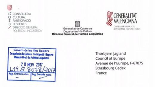 Reclaman al Gobierno de España que se involucre en el fomento del catalán.
