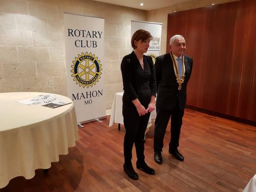 (Fotos) El Rotary Club Mahón-Mô, de aniversario