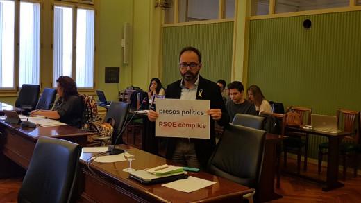 Josep Castells, diputado de Més per Menorca.