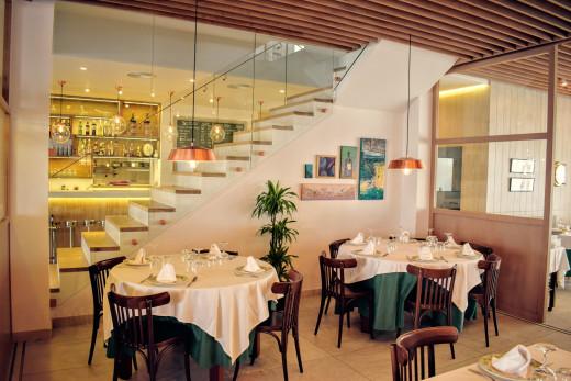 Imagen del interior del Cafè Balear.