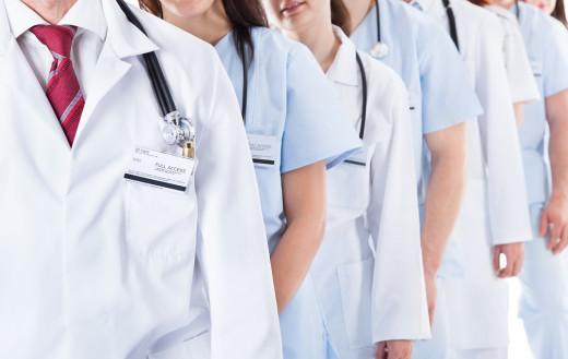 Imagen de personal sanitario.
