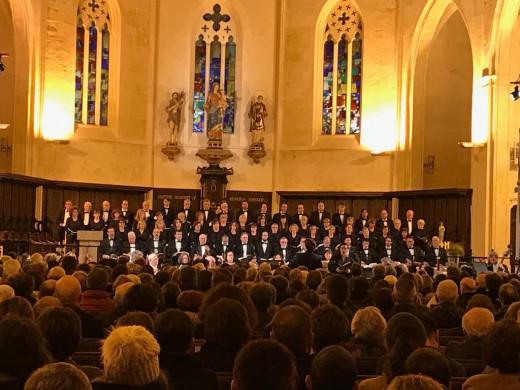 """(Fotos y vídeo) """"El Mesías de Händel"""" impresiona en Ciutadella"""