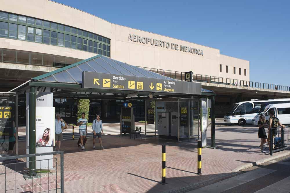 Imagen del Aeropuerto de Menorca (Foto: AENA)