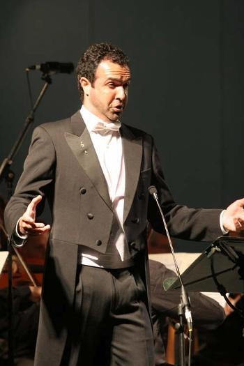 Simón Orfila en Milán.