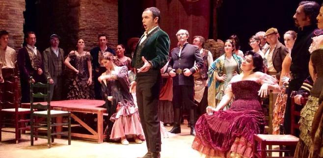 Simón Orfila, en plena actuación.