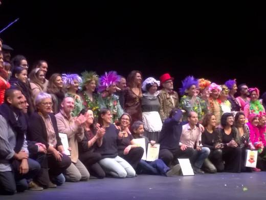 Maria Cubas y Conxi Masreal premiadas en el Festival Nacional de Teatro Aficionado